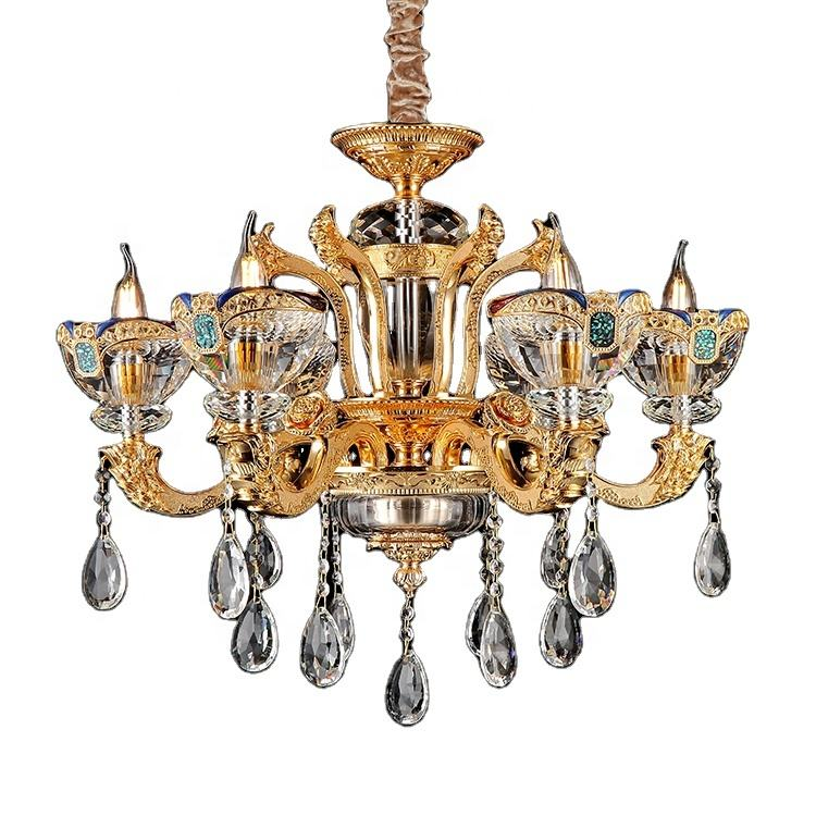 Unique design bobeches crystal ceiling light chandelier hanging crystal ball chandelier