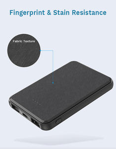 Free Sample Pocket Size Mini Slim Dual USB Output 5000mAh Best Cheap Power Bank