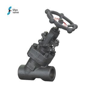 Y-pattern Forged Steel SW End Steam Globe Valve Handwheel Price