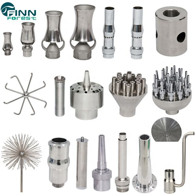 Factory Supply Dancing Fountain Accessories Stainless Steel Brass Head Nozzle Fountain Nozzles