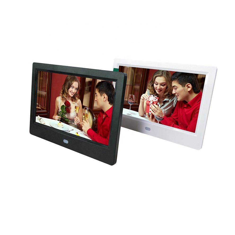 7 inch OEM digital photo frame high quality auto play picture video digital picture frame advertising machine