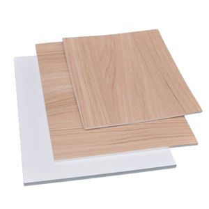 Waterproof durable home decorative PP foam sheet/board wood texture interior Wall Panel