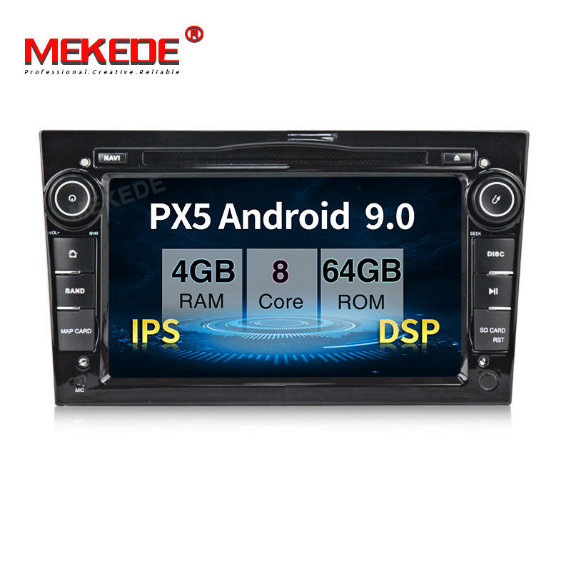 Mekede 7'' IPS DSP Android 9.0 Car DVD Player For Opel Astra Vectra Zafira Vivaro Antara Corsa Meriva Tigra Combo Holden Captiva