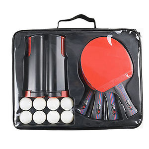Oem Professional Ping Pong Paddle and Balls Table Tennis Racket Set With Net