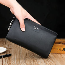 New Design PU Men Wallets for Men Clutch Bag Fashionable Card Holder Wallet With Lock