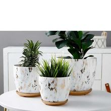 5.5 Inches Planter Decorative Flower Pots Ceramic Ceramic Planter Pots Ceramic Pots and with Saucer