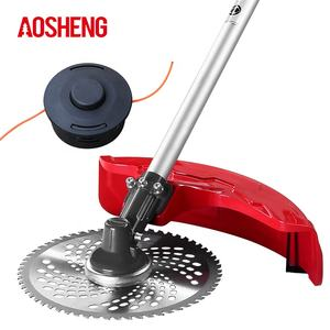 AOSHENG 4-stroke garden tools grass cutter CG151 wheeled high power brushcutter