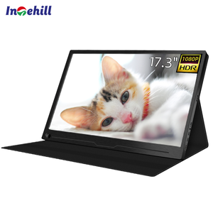 Gaming Monitor 17.3 inch 1080P Portable LED Computer Screen by Intehill