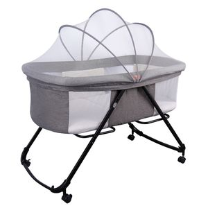 Factory wholesale cradle baby crib sleeping bed boy good price
