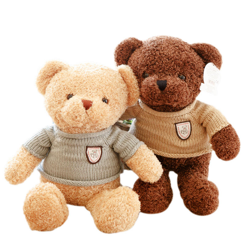 Factory wholesale teddy bear plush toy hug bear doll bear pillow