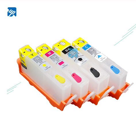 UP refillable Ink cartridge replacement for HP 364 364XL with permanent Chip 3070A B209a B210A 5515 B010a B109d B109a B110c 5520