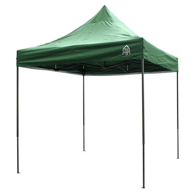 Folding gazebo tent outdoor pop up beach square advertise LED signs canopy tent