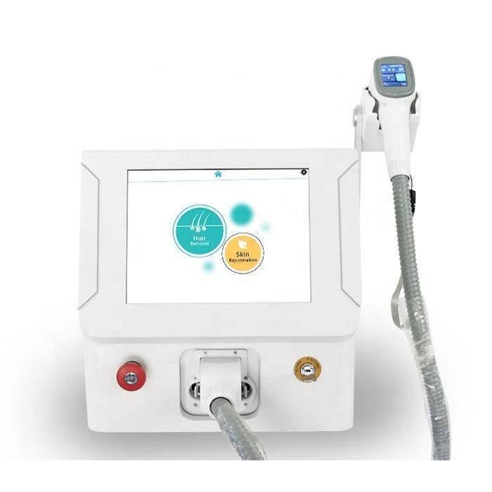 CE approved portable triple wavelength diode laser hair removal 808 nm