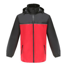Maiyu custom 190T polyester raincoat waterproof rain jacket for adult