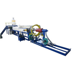 Epe schuim sheet making machine soft foam roll extrusie machine epe schuim roller making machine