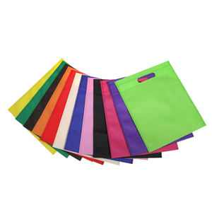 Customized Eco Friendly Promotional Shopping environmental d cut Non-Woven Fabric Bag