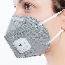 Health Protective Anti Pollution Vertical Folding Mask Dust Mask with Valve