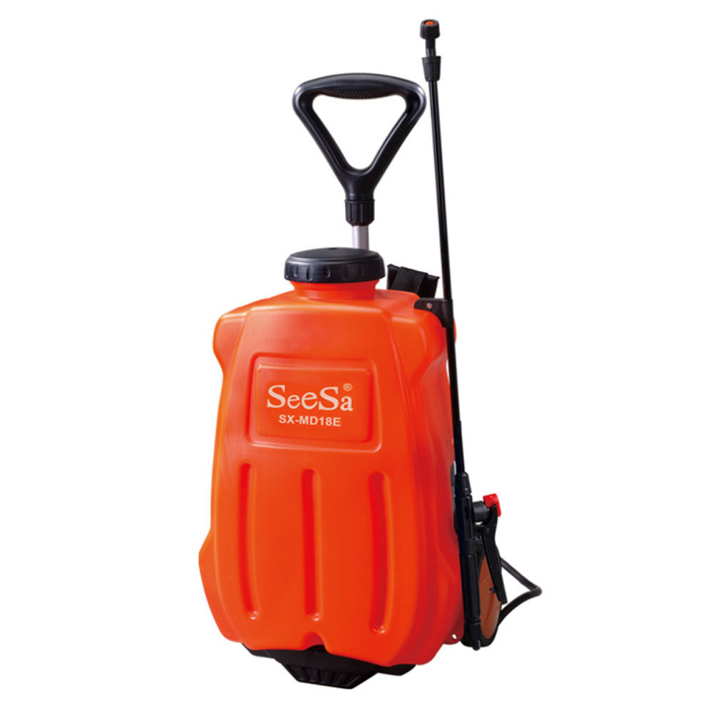16L rechargeable battery operated pump up knapsack agricultural field sprayer