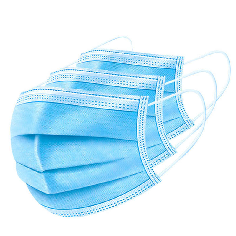 3 Ply Disposable Medical Face Mask Sanitary Wholesale Hospital Medic Surgic Mask En14683 Supplies Dental China Medical Face
