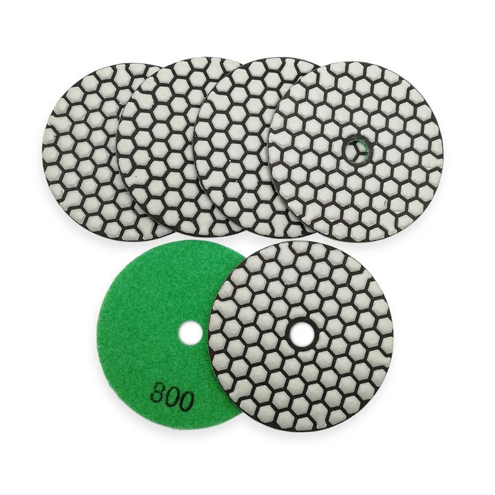 Diatool 4 Inch 800 Grit Diamond Polishing Pad Batu Polishing Pads
