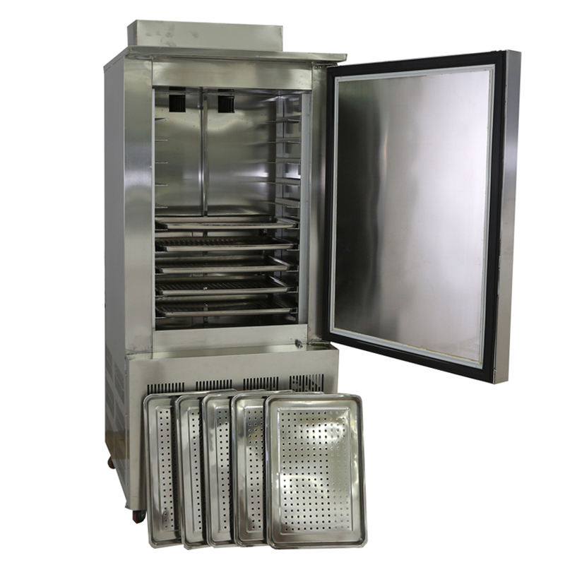Minus 40 degrees temperature deep blast chiller freezer equipment with auto defrost