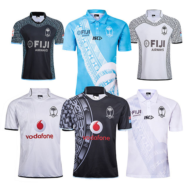 Wholesale Fiji Sports Jersey New Model Sublimation Custom Rugby Jersey