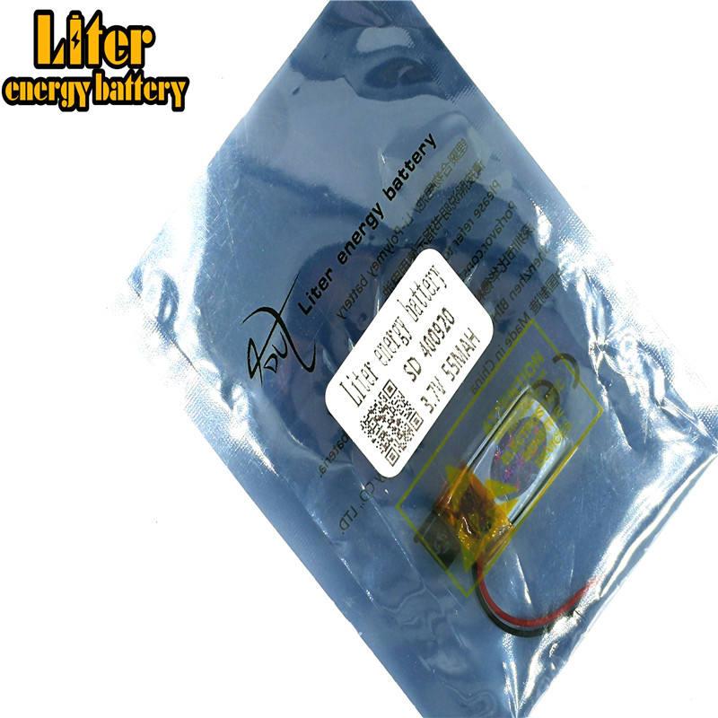 bulk buying 3.8v li-polymer battery 400920 401020 55mAh for mini power tools
