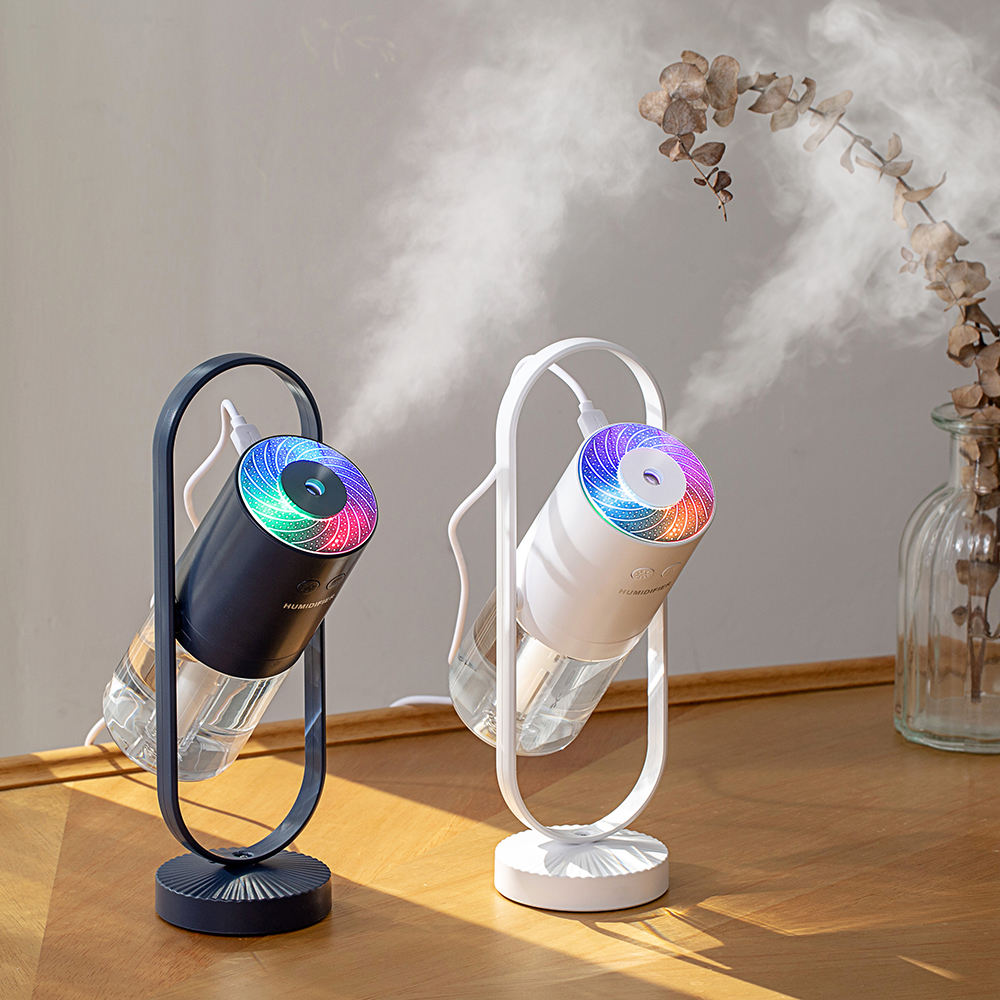 2020 Hot Portable Rechargeable Car Humidifier USB Aroma Diffuser Changing LED Lights Office Home Table Air Humidifier