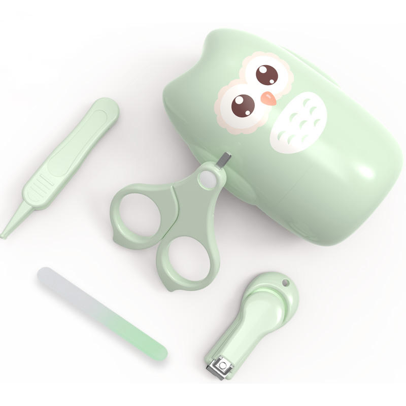 Amazon Heißer Verkauf Baby Nagel Clipper Set Infant Sicherheit Trimmer Schere Pediküre Kit Für Neugeborenen Spezielle Kind Anti-Prise nagel Clip
