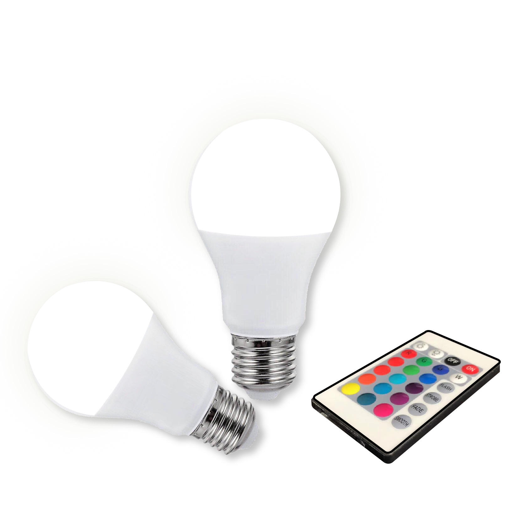 Colour Changing Led Lamp Rf Afstandsbediening Leven Smart Led Licht Met Afstandsbediening
