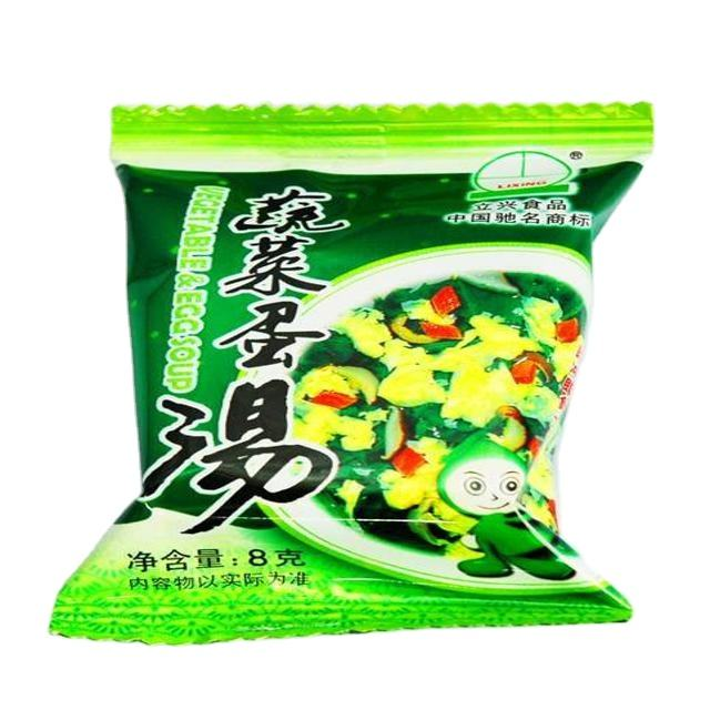 Best selling product 2020 china food Freeze dried egg soup