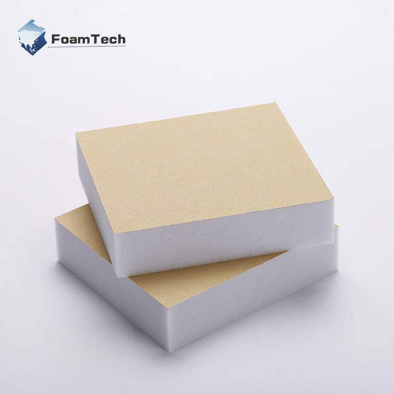 Lamination Melamine Foam Sponge Glued With Tape