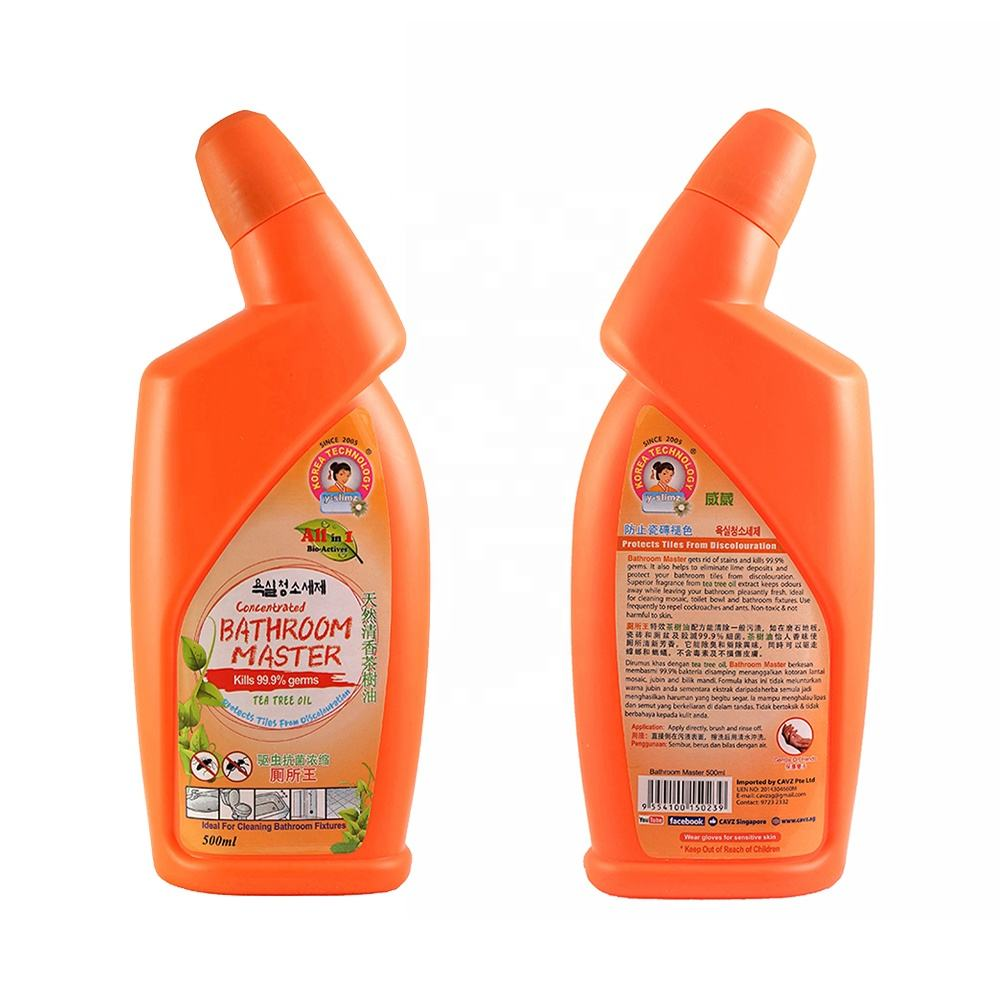 Bathroom Cleaning Product Anti Bacteria Toilet Cleaner Liquid 500ml
