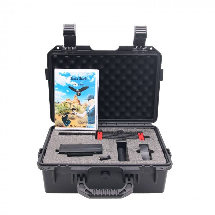Professional Black Hawk GR-100 Mini 30M Long Range Portable Laser Scanning Gold Detector Metal Detector