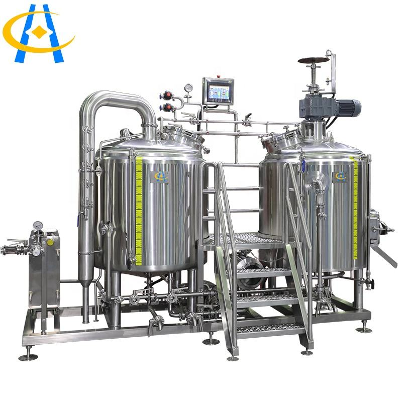 For Food Beverage Shops Hengcheng Micro Craft Beer Brewery Equipment Brewing Beer Craft Machine