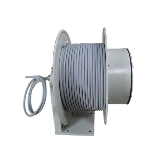 Heavy Duty Cable Reel in Black ABS Plastic Lighting for Cables Ropes
