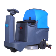 automatic floor cleaning machine industrial stone floor scrubber