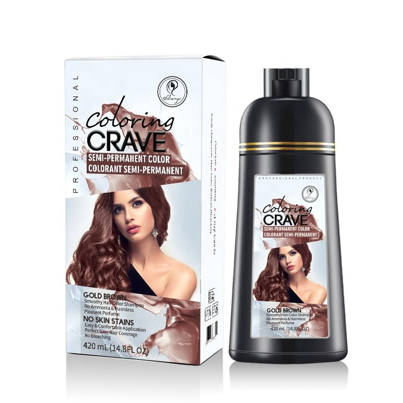 henna black darkening hair shampoo purple brown women hair dye hair color shampoo oysis