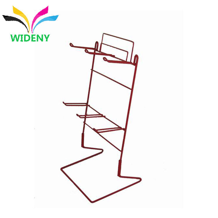 Multicamadas Colar Display stand Display rack gancho de arame de metal Pequenas Enforcamentos