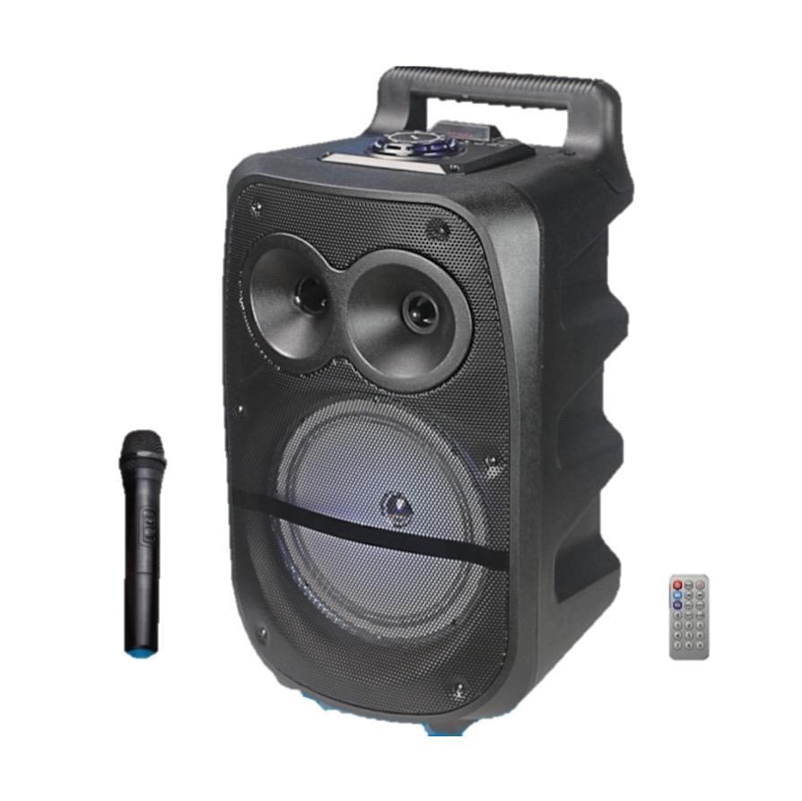 cmik mk-17u oem odm parlantes with wireless microphone remote horn bafles mini bocinas sound system flat blue tooth peaker