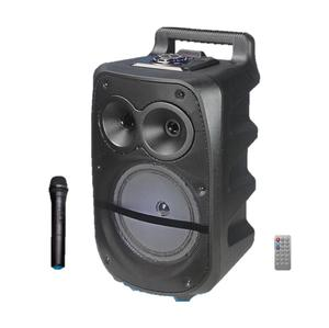 cmik mk-17u oem odm parlantes with wireless microphone remote horn bafles mini bocinas sound system flat blue tooth peaker