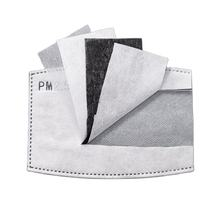 Carbon Pad Activated Air l Block Water Cotton Fabric Pads Pm2.5 Face Mask Filter Pm 2.5