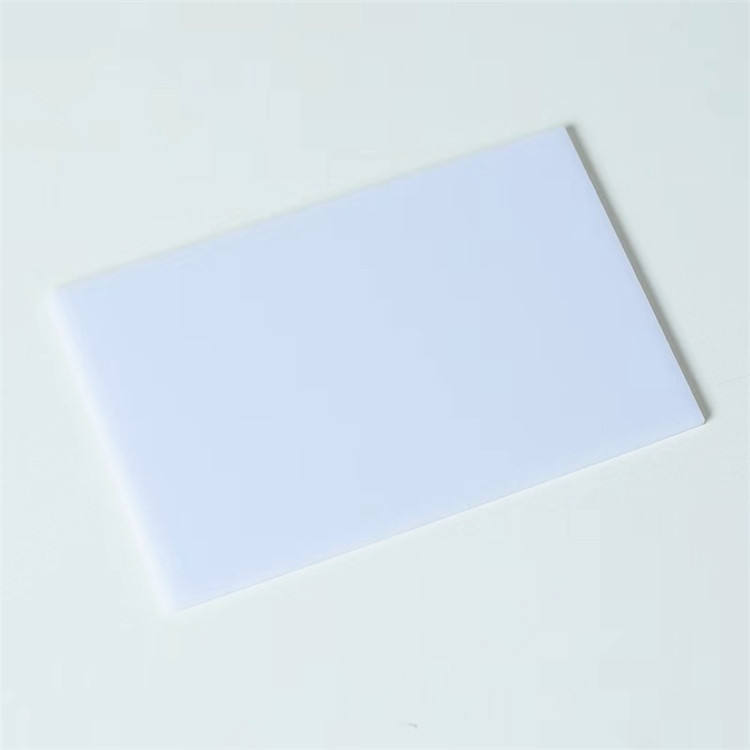 High impact strength Milky white clear 0.1mm-20mm thickness solid polycarbonate sheet
