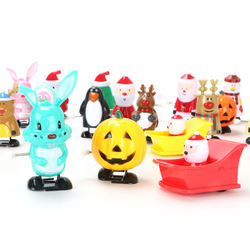 Christmas Wind Up Toys for Assorted Clockwork Toys Supply for Party Favors for Boys Girls Kids