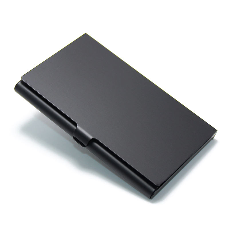 Wholesale Promotional Cheap Bulk Various Styles Metal Anodizing Card Case Aluminum Business Card Holder