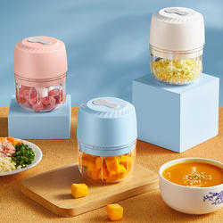Home appliances mini food chopper manual baby food processor