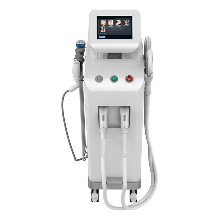 Professional beauty device 5 in 1 ipl rf cavitation laser shr opt 5 in 1 shr beauty salon