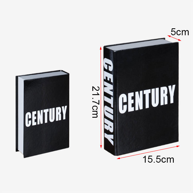Fashion Wholesale Hotel Cafe Decoration Fake Book Model Book