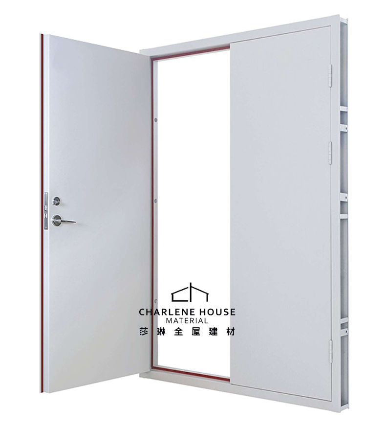 Good Fire Resistant Security Use Fire Rated Steel Door