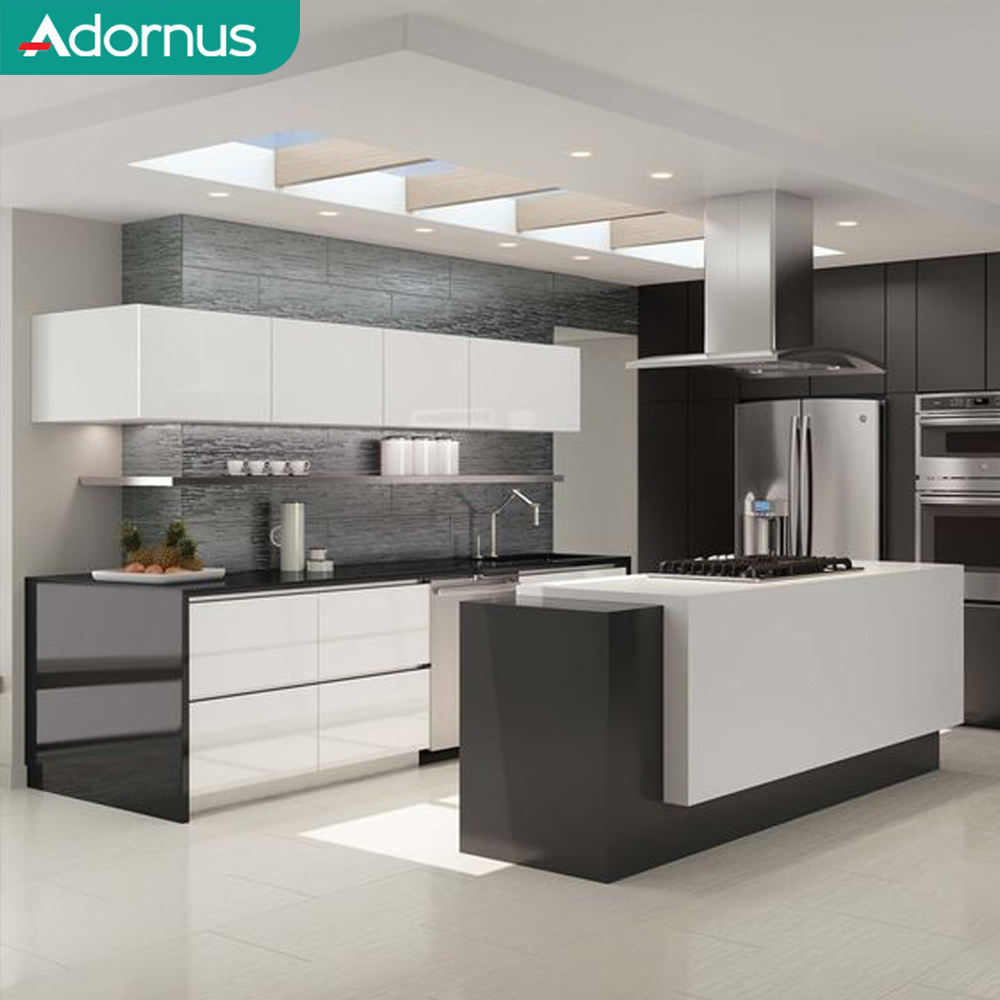 Adornus amoires tiny 2 pack built in kitchen cupboards